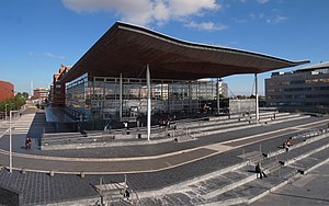 National Assembly for Wales - The Senedd, home to the National Assembly for Wales