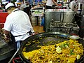 Serving Paella - Pamplona - Navarra - Spain (14420116828).jpg