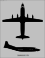 Shaanxi Y-8 two-view silhouette.png