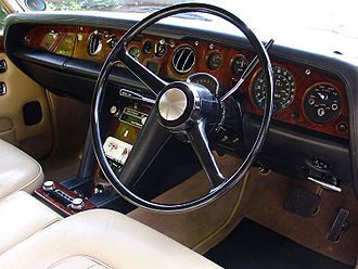 Rolls-Royce Silver Shadow - 1972 Silver Shadow, interior view
