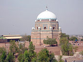 Mausoleum of Shah Rukn-e-Alam (A Sufi Saint) in Multan, Pakistan