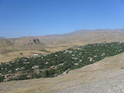 Skyline of Şahbuz