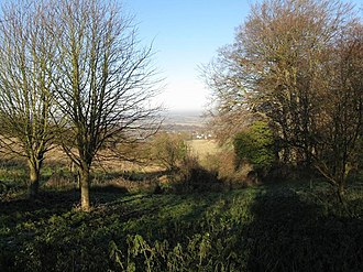 Smithcombe, Sharpenhoe and Sundon Hills - View of Sharpenhoe