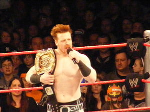 Professional wrestler Sheamus (real name Steph...