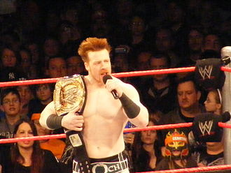 Sheamus - Sheamus as the WWE Champion in December 2009