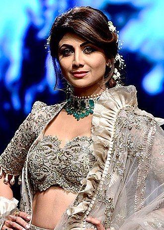 Shilpa Shetty - Shetty at the 2018 Lakme Fashion Week