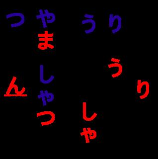 Shiritori Japanese word game