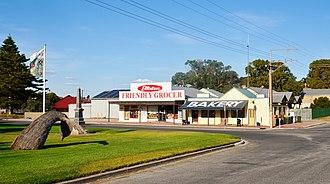 Elliston, South Australia - The town centre