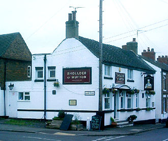 "Coton in the Elms - The ""Shoulder of Mutton"" pub"