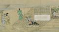 Shuhanron emaki - BNF - préparation du sake et ivrognerie.png