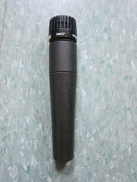 Dynamic Microphone Wiki : file shure sm57 dynamic wikimedia commons ~ Russianpoet.info Haus und Dekorationen