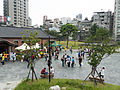 Shuxin Hall and Plaza Birdview in Afternoon 20140705.jpg