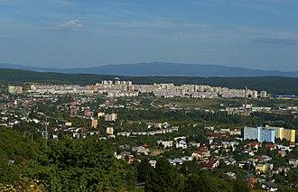 Sídlisko Ťahanovce - Sídlisko Ťahanovce   (a view from Červený breh)