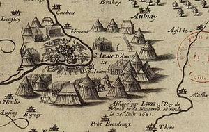 Siege of Saint-Jean-d'Angély - Image: Siege de Saint Jean d Angely 1621
