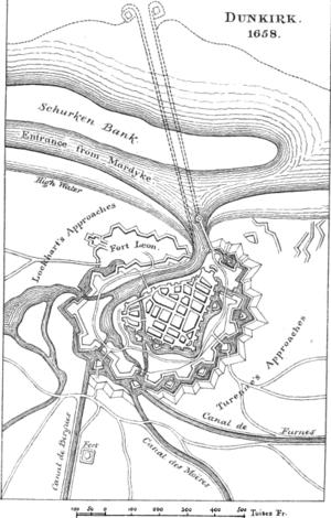 Siege of Dunkirk (1658) - Siege of Dunkirk