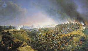 Siege of Varna - Painting by Alexander Sauerweid (1836)