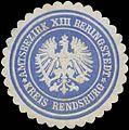 Siegelmarke Amtsbezirk XIII Beringstedt W0325881.jpg