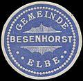 Siegelmarke Gemeinde Besenhorst-Elbe W0334628.jpg