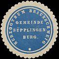 Siegelmarke Gemeinde Süpplingenburg H. Braunschweig W0382779.jpg