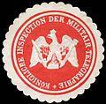 Siegelmarke K. Inspection der Militair - Telegrafie W0245594.jpg