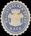 Siegelmarke Magistrat der Stadt Rain-Lech (Bayern) W0392412.jpg