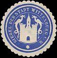 Siegelmarke Siegel der Stadt Wittenburg i. M. W0356110.jpg
