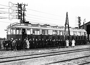 Royal Prussian Military Railway - Experimental railcars with Siemens equipment