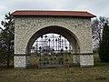 Siennica Nadolna military cemetery monument.JPG