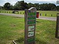 Sign for the Woodlands Roundwalk - geograph.org.uk - 473760.jpg
