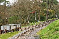 Signal at Woody Bay railway station (1081).jpg