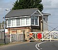 Signal box at Shippea Hill railway station - geograph.org.uk - 1519339.jpg