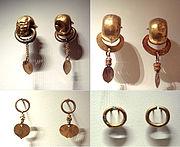 Silla jewelry, 5th century.