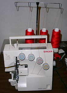 overlock stitch on regular sewing machine
