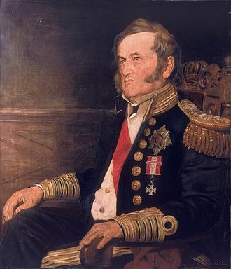 Fairfax Moresby - Moresby as Admiral of the Fleet, 1870