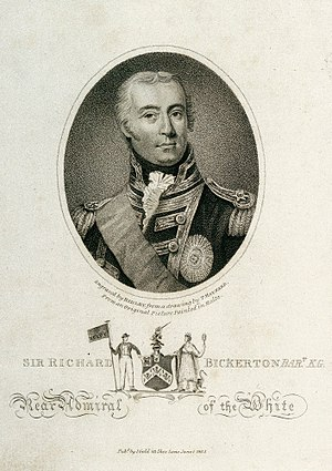 Sir Richard Bickerton, 2nd Baronet