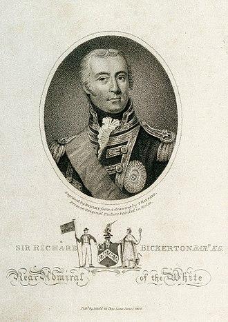 Sir Richard Bickerton, 2nd Baronet - Image: Sir Richard Bickerton