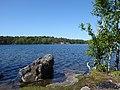 Sisjon Vastergotland Sweden from E side May 29 2021.jpg