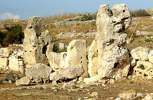 Megalithic Temples of Malta - Charcoal found on site at Skorba was crucial in dating the Maltese Temple phases.