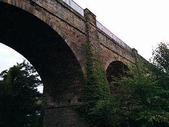 Slateford Aqueduct - Image: Slateford Viaduct (9)