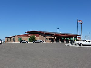 Sloulin Field International Airport - Image: Sloulin Field Terminal