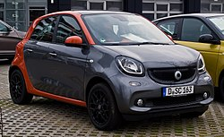 Smart Forfour 1.0 Edition #1 (W 453)