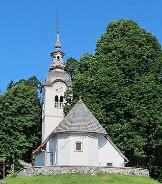 Smrečje, Vrhnika - Assumption of Mary Church