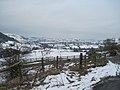 Snowy Cynllaith valley from B4580 road - geograph.org.uk - 1722854.jpg
