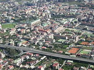 Soccavo - Urban sprawl in Soccavo.