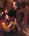Socrate insegna ai giovani la conoscenza di sè - Mola.png