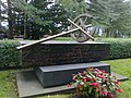 Sodissa 1939-1945 kaatuneiden romanien muistomerkki, Hietaniemen hautausmaa Helsinki.jpg