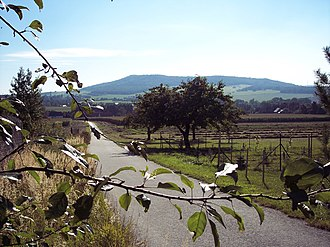 Upper Lusatia - View from Sohland to Mt Rotstein