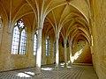 Soissons (02), abbaye Saint-Jean-des-Vignes, réfectoire, vue diagonale vers le nord-ouest 2.jpg