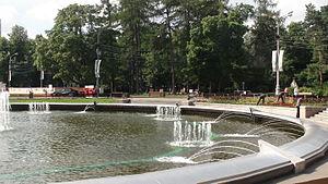 Sokolniki Park - Image: Sokol Zast 51