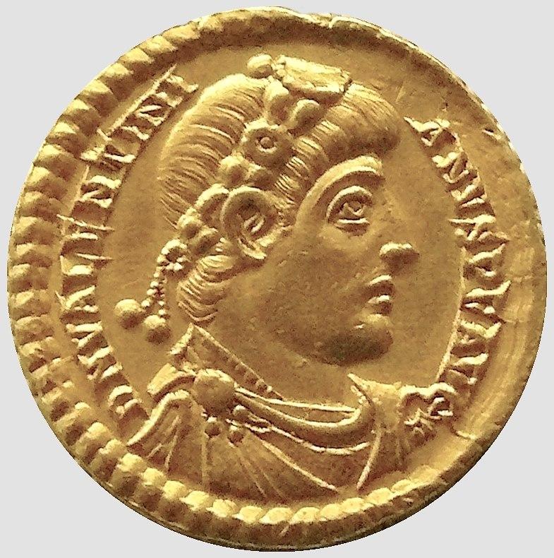 Solidus de Valentinien MAN
